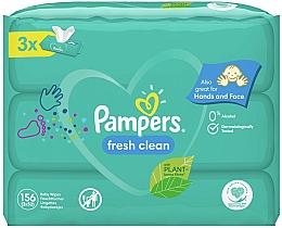 Perfumería y cosmética Toallitas húmedas para bebés sin alcohol - Pampers Baby Fresh Clean