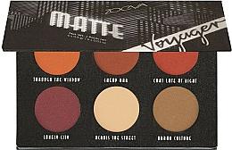 Perfumería y cosmética Paleta de sombras de ojos - Zoeva Voyager Matte Eyeshadow Palette
