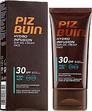 Perfumería y cosmética Crema-gel facial de protección solar - Piz Buin Hydro Infusion SPF 30