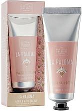 Perfumería y cosmética Crema de manos y uñas con manteca de cacao - Scottish Fine Soap La Paloma Hand & Nail Cream