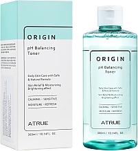 Perfumería y cosmética Tónico facial hipoalergénico con extracto de centella asiática - A-True Origin pH Balancing Toner