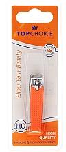 Perfumería y cosmética Cortauñas, 76947 naranja neon - Top Choice Colours Nail Clippers