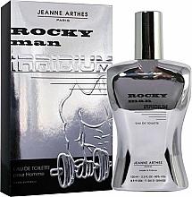 Perfumería y cosmética Jeanne Arthes Rocky Man Irridium - Eau de toilette
