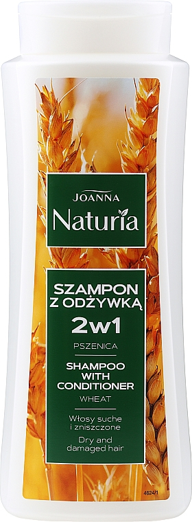 Champú y acondicionador con trigo - Joanna Naturia Shampoo With Conditioner With Wheat