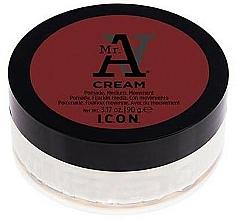 Perfumería y cosmética Crema hidratante de cabello con manteca de carité, fijación media - I.C.O.N. MR. A. Cream