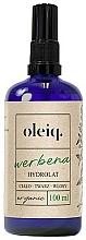 Perfumería y cosmética Hidrolato para cuerpo, rostro y cabello de verbena - Oleiq Verbena Hydrolat