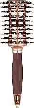Perfumería y cosmética Cepillo de pelo desenredante - Olivia Garden Nano Thermic Ceramic + Ion Contour Vent Combo Large