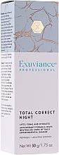 Perfumería y cosmética Crema correctora para contorno de ojos con péptidos, ácido hialurónico y cafeína - Exuviance Professional Total Correct Night