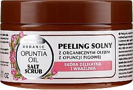Perfumería y cosmética Exfoliante corporal a base de sal con aceite orgánico de opuntia - GlySkinCare Opuntia Oil Salt Scrub