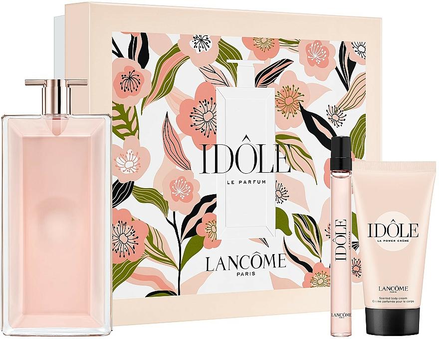 Lancôme Idole - Set (eau de parfum/100ml + eau de parfum/mini/10ml + crema corporal/50ml)