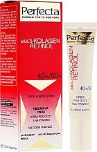 Perfumería y cosmética Crema contorno de ojos con cafeína - Dax Cosmetics Perfecta Multi-Collagen Retinol Eye Cream 40+/50+