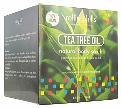 Perfumería y cosmética Exfoliante corporal natural, con aceite de árbol de té - Rolling Hills Gommage Corps Naturel