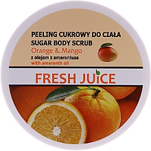Perfumería y cosmética Exfoliante corporal de azúcar con naranja y mango - Fresh Juice Orange and Mango