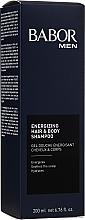 Perfumería y cosmética Champú energizante para cabello y cuerpo con cafeína - Babor Men Energizing Hair & Body Shampoo
