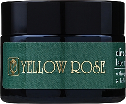 Perfumería y cosmética Mascarilla facial con aceite de oliva orgánico y extracto de hierbas - Yellow Rose Face Mask