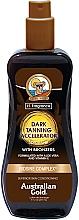Perfumería y cosmética Spray-gel acelerador del bronceado con aloe vera - Australian Gold Dark Tanning Accelerator Spray Gel With Bronzers