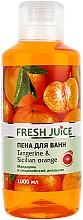 Perfumería y cosmética Espuma de baño con aroma a mandarina y naranja siciliana - Fresh Juice Tangerine and Sicilian