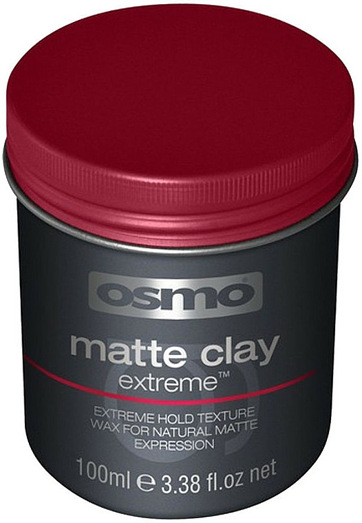 Cera para cabello de fijación extrema con acabado mate - Osmo Matte Clay Extreme