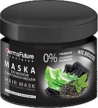 Perfumería y cosmética Mascarilla capilar con carbón activado - DermoFuture Hair Mask With Activated Carbon