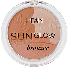Perfumería y cosmética Polvo bronceador - Hean Sun Glow Bronzer
