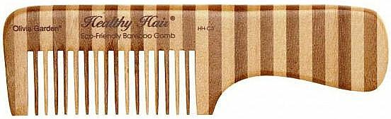 Peine de bambú ecológico, 3 - Olivia Garden Healthy Hair Eco-Friendly Bamboo Comb 3