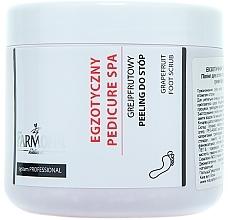 Perfumería y cosmética Exfoliante para pies con extracto de pomelo - Farmona Exotic Pedicure