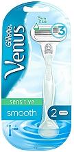 Perfumería y cosmética Maquinilla de depilar con recambio - Gillette Venus Smooth Sensitive