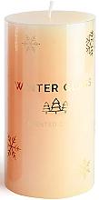 Perfumería y cosmética Vela aromática, color crema, 9x8cm - Artman Winter Glass