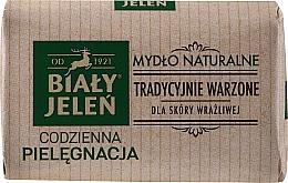 Perfumería y cosmética Jabón natural hipoalergénico de glicerina para pieles sensibles - Bialy Jelen Hypoallergenic Natural Soap Premium
