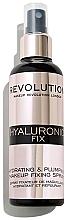 Perfumería y cosmética Spray fijador de maquillaje hidratante con jugo de aloe vera - Makeup Revolution Hyaluronic Fix Spray