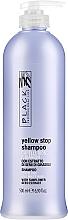 Perfumería y cosmética Champú con extracto de semilla de girasol anti tonos amarillos - Black Professional Line Yellow Stop Shampoo