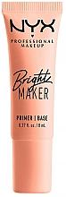 Perfumería y cosmética Prebase facial - NYX Professional Bright Maker Brightening Primer (mini)
