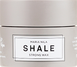 Perfumería y cosmética Cera modeladora para cabello de fijación fuerte - Maria Nila Shale Strong Wax