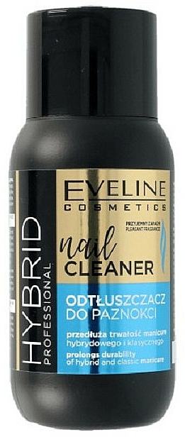 Desengrasante de uñas - Eveline Cosmetics Hybrid Professional Nail Cleaner