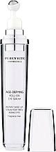 Perfumería y cosmética Sérum roll-on contorno de ojos antiedad con coenzima Q10 y cafeína - Pure White Cosmetics Age-Defying Roll-on Eye Serum