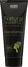 Perfumería y cosmética Champú natural con aceite de macadamia & ylang-ylang - Avebio Natural Shampoo For Thin And Delicate Hair