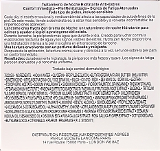 Tratamiento de noche hidratante anti estrés con extracto de moringa y aceite de sésamo - Lancôme Hydra Zen Neurocalm 50ml — imagen N3