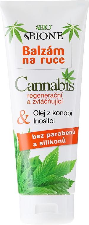 Bálsamo de manos con aceite de cáñamo - Bione Cosmetics Cannabis Hand Balm
