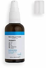 Perfumería y cosmética Gel hidratante con ácido hialurónico y aceite de cáñamo - Revolution Skincare Mood Thirsty Quenching Moisture Gel
