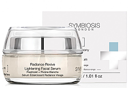 Perfumería y cosmética Sérum facial iluminador con extracto de peonía blanca - Symbiosis London Radiance Revive Lightening Facial Serum