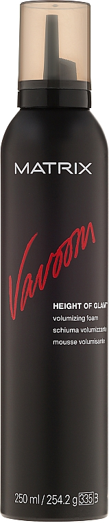Espuma para volumen del cabello con protección térmica - Matrix Vavoom Height Of Glam Volumizing Foam  — imagen N1