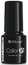 Perfumería y cosmética Esmalte gel de uñas híbrido, UV - Silcare Color IT Premium Hybrid Gel