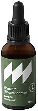 Perfumería y cosmética Aceite de barba con vitamina E - Monolit Skincare For Men Beard Oil With Vitamin E