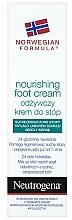 Perfumería y cosmética Crema de pies nutritiva con mentol para piel seca y dañada - Neutrogena Nourishing Foot Cream 24H