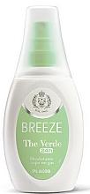Perfumería y cosmética Breeze Deo The Verde - Desodorante perfumado con aceites emolientes, sin gas ni alcohol