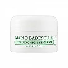 Perfumería y cosmética Crema contorno de ojos con ácido hialurónico - Mario Badescu Hyaluronic Eye Cream