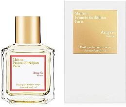 Perfumería y cosmética Maison Francis Kurkdjian Amyris Femme - Aceite perfumado para cuerpo