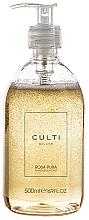 Perfumería y cosmética Culti Rosa Pura - Jabón líquido perfumado, rosa y pachulí