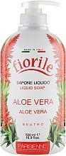 Perfumería y cosmética Jabón líquido aloe vera - Parisienne Italia Fiorile Aloe Vera Liquid Soap