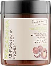 Perfumería y cosmética Mascarilla capilar reparadora con aceite de macadamia - Kosswell Professional Macadamia Reinforce Mask